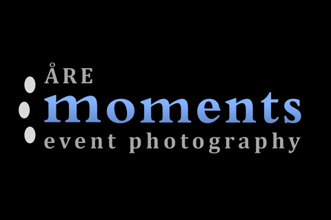Fotograf Åre –  Åre moments event photography logo